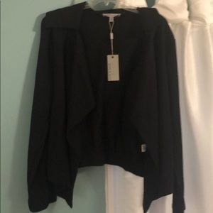 Grey & gray short jacket
